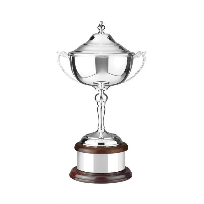 SILVER PLATED TRADITIONAL TROPHY CUP - 3 SIZES
